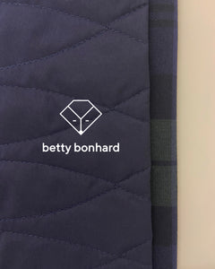 Betty Bonhard quilted warmer vest for children