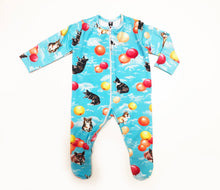Load image into Gallery viewer, Amazing Zipper Corgi Balloons Print Sleepsuit