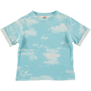 Clouds Print T-shirt
