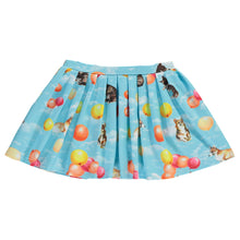 Load image into Gallery viewer, Corgi Balloons Skirt with sewn in shorts