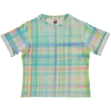 Load image into Gallery viewer, Tartan Print T-shirt