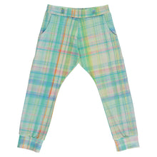 Load image into Gallery viewer, Tartan Print Tracksuit Bottoms