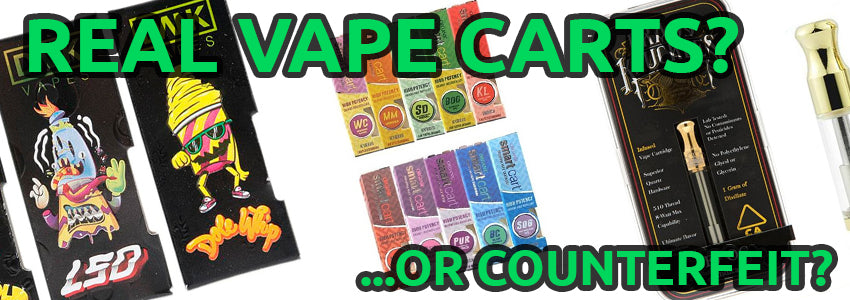 Want To Know If Vape Cartridge is Fake? – GreenWater Supply Co