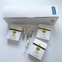 TKO Branded Fake Vape Cart Packaging