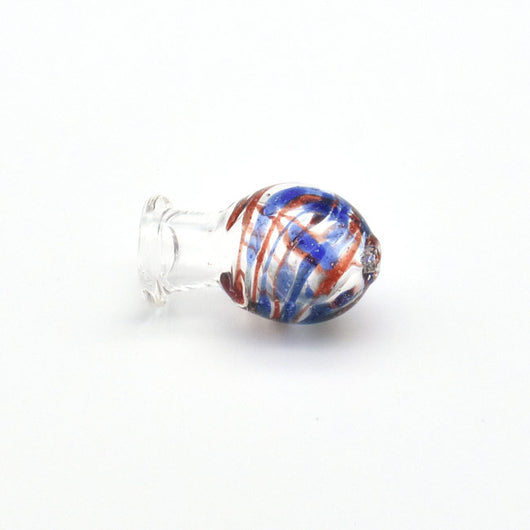 Colored Glass Carb Cap with Various Patterns - GreenWater Supply Co.