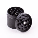 "Mini Black Finish Herb Grinder 4 Layer 1.25"" with Magnets - GreenWater Supply Co."