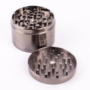 "Gunmetal Finish Herb Grinder 4 Layer 2.5"" Large Size with Magnets - GreenWater Supply Co."