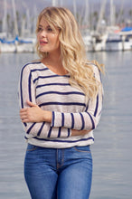 Load image into Gallery viewer, Nautical sweater