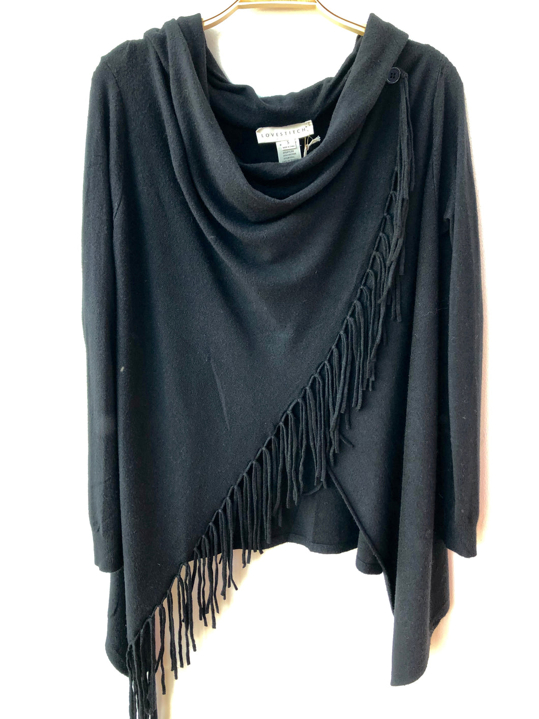 Carrie Fringe Cape