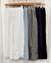 Load image into Gallery viewer, The Nantucket Linen Pant