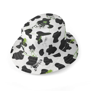 Cowgirls vs Aliens Bucket Hat
