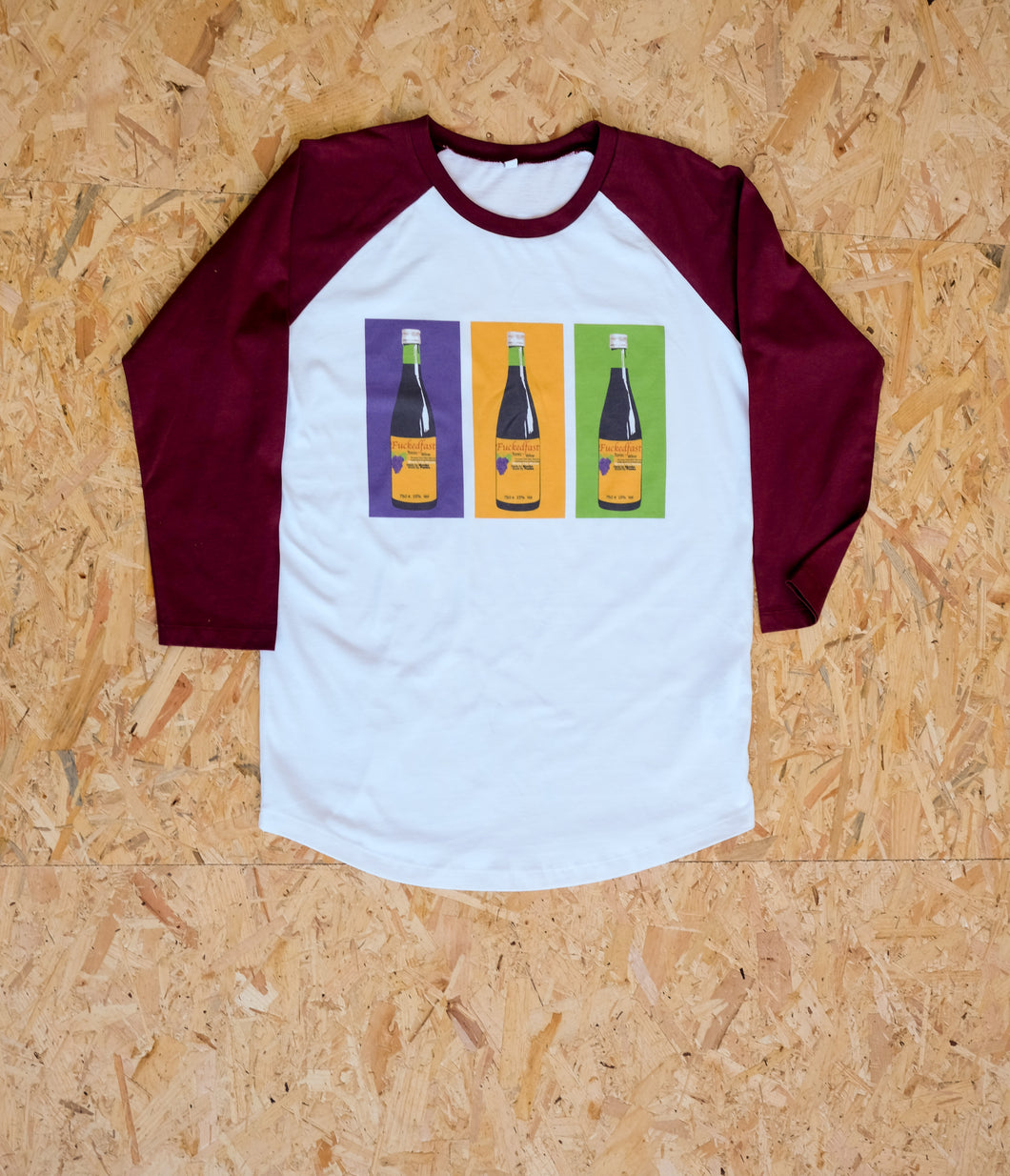 Bucky Bottle Print Baseball T