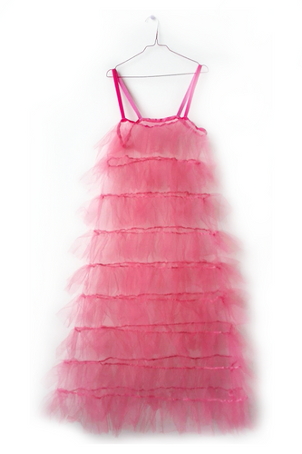Ruffled Tulle Dress Multiple colours