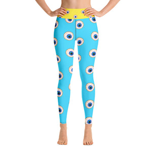 High Waisted Insomnia Print Leggings