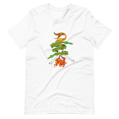 Sea Weed Mermaid Short-Sleeve Unisex T-Shirt Fictional Character