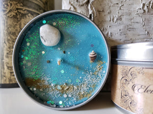 Element of Water Candle, Tin