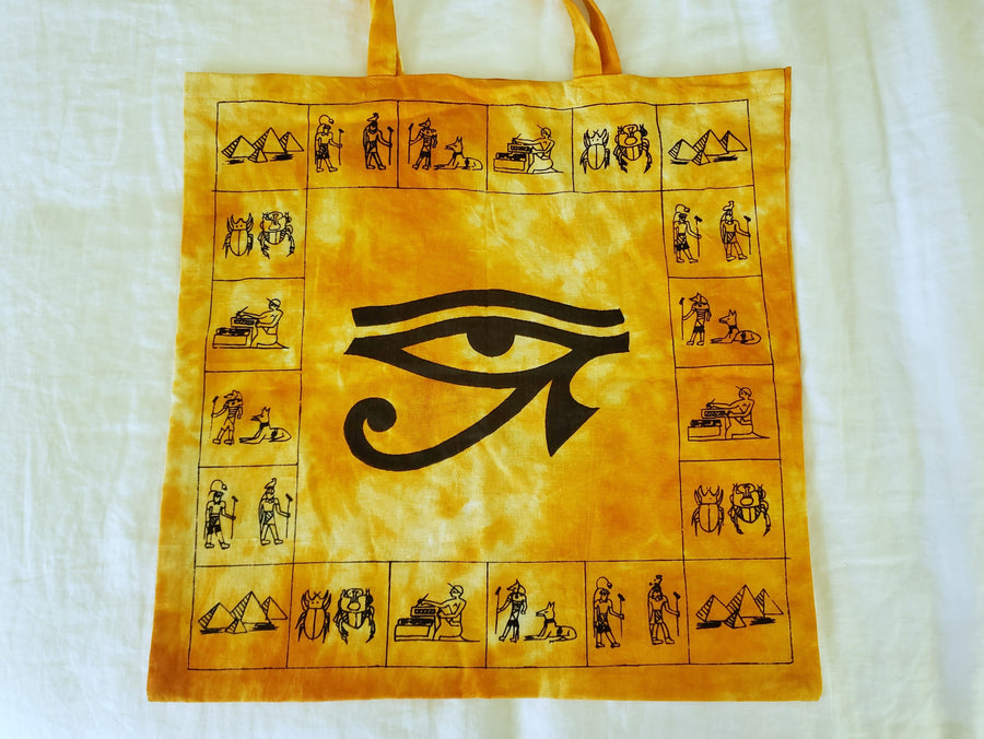 Egyptian Eye of Horus Tote Bag