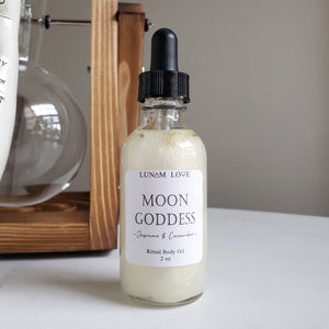 Moon Goddess Body Oil