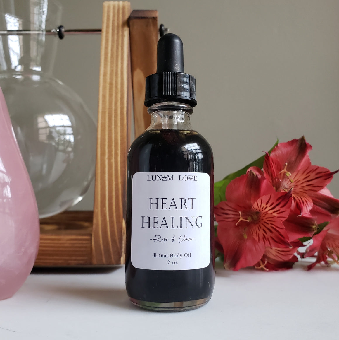 Heart Healing Body Oil