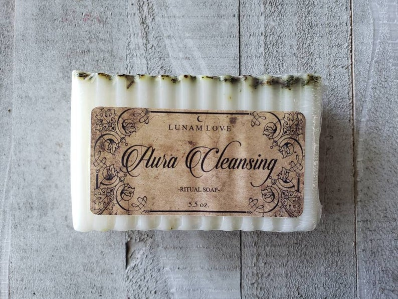 Aura Cleansing Ritual Soap