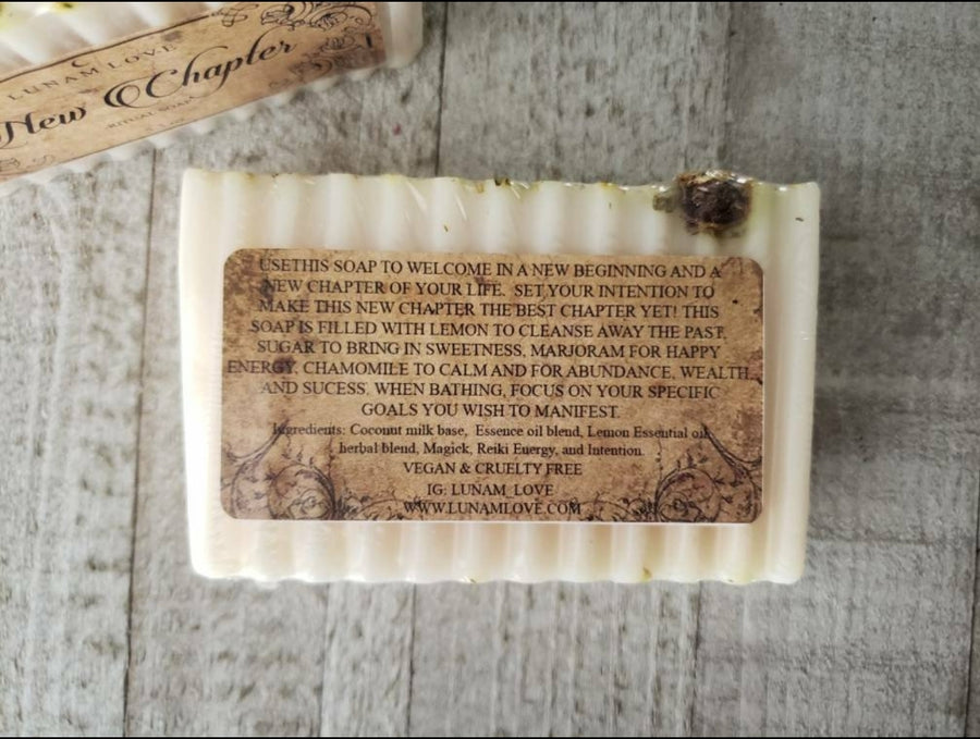 New Chapter Ritual Soap