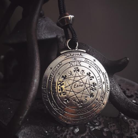 Pentacle of Solomon Protection Talisman