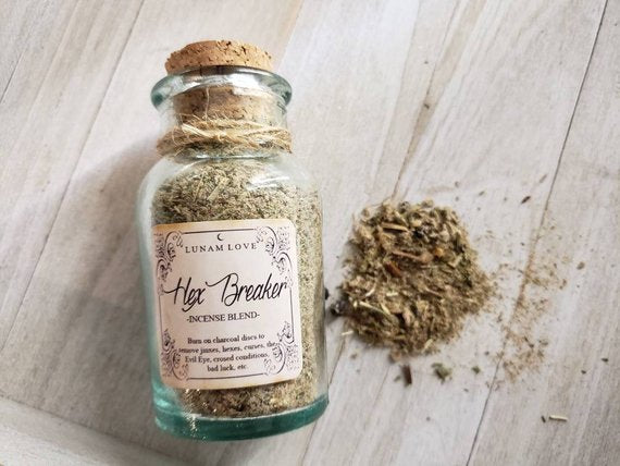 HEX BREAKER Loose Incense // Magick // Witchcraft // Ritual