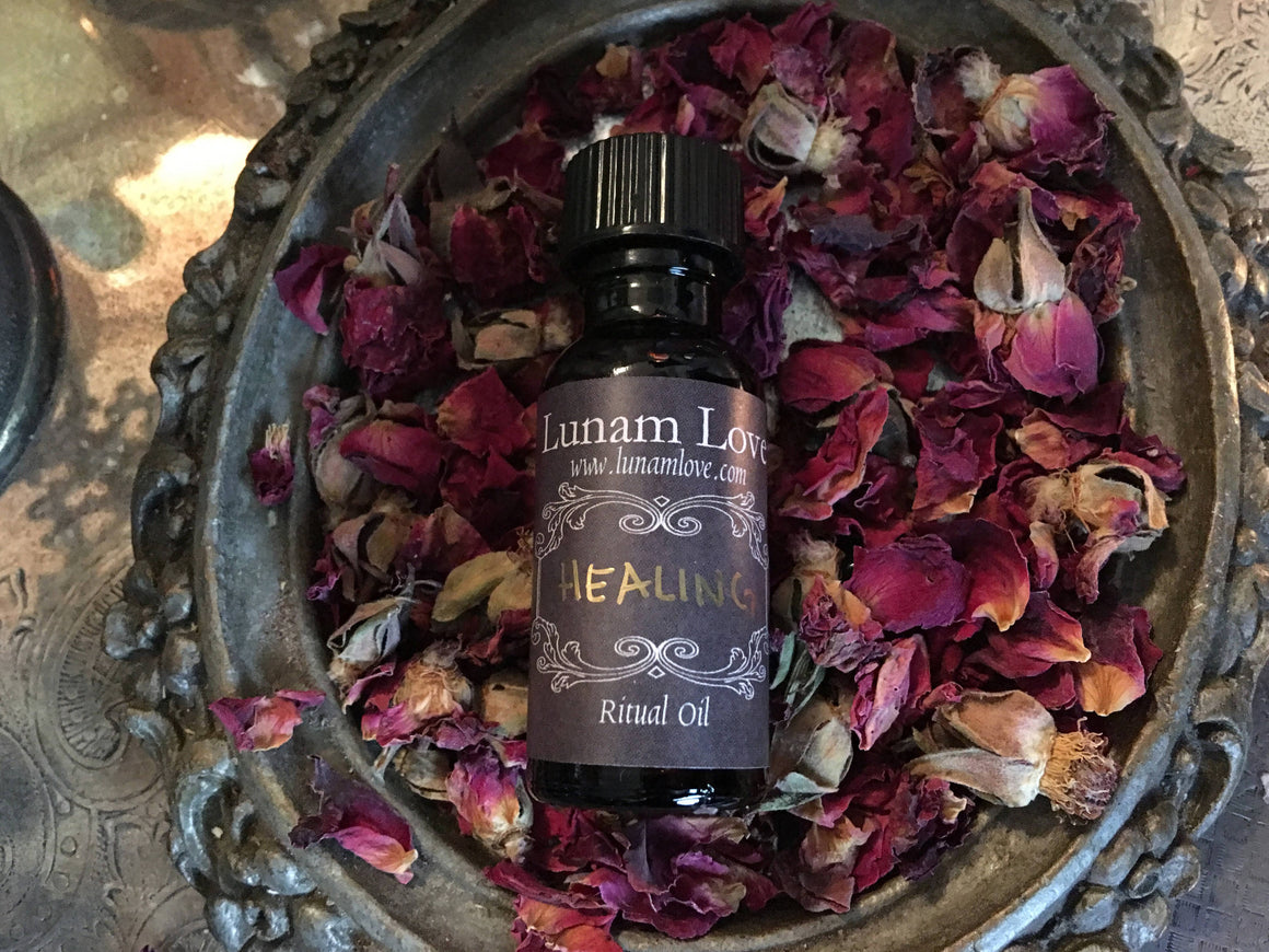 HEALING Ritual Oil ~ Witchcraft ~ Spell Work