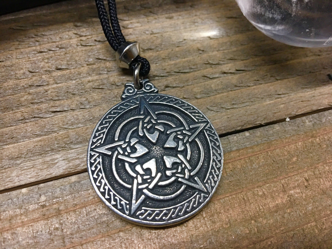 CELTIC PENTACLE // Witch // Witchcraft // Talisman // Amulet // Witch Jewelry // Wicca // Pagan // Protection