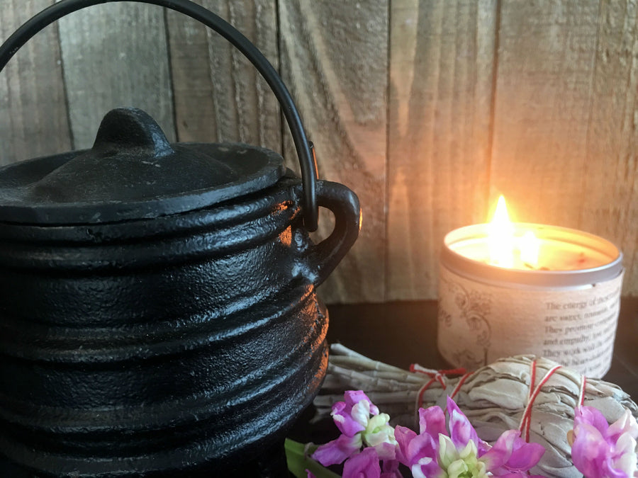 CAULDRON // Cast Iron //Witch's Cauldron // Incense Burner // Ritual // Magick // Witch // Witchcraft