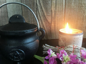 Small Cauldron with Pentacle