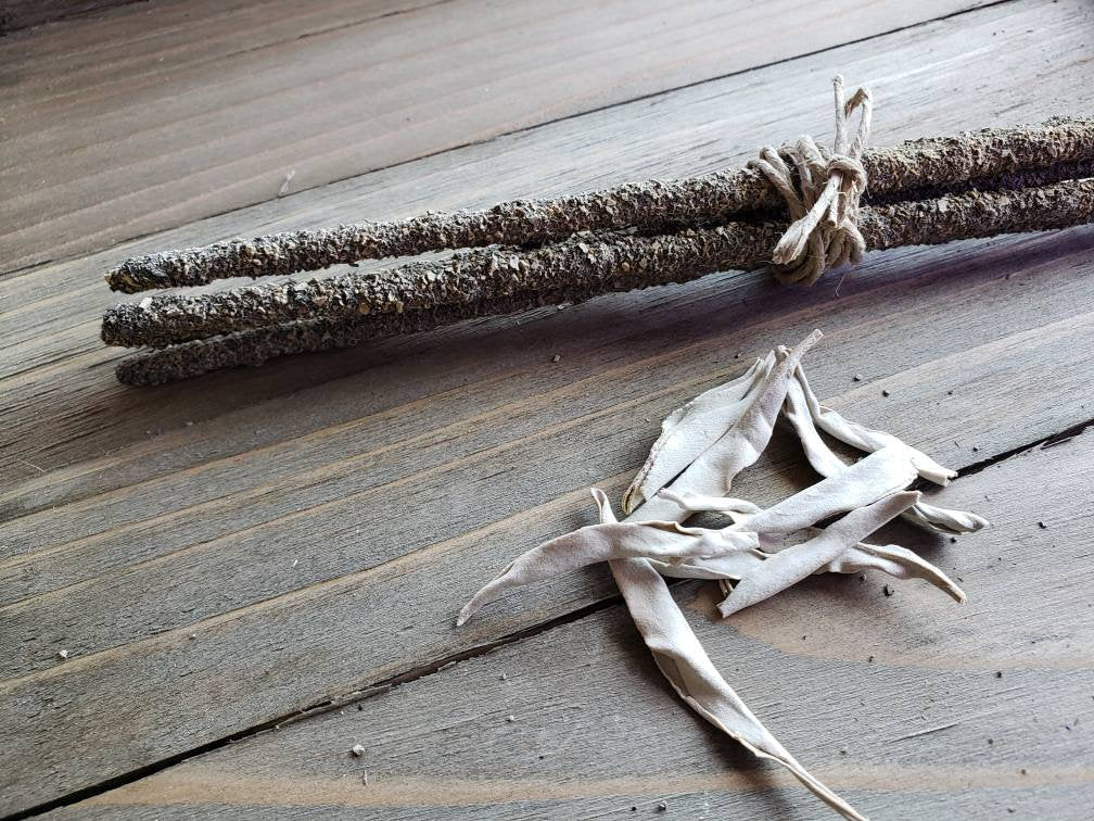 WHITE SAGE and COPAL Incense Sticks // Ritual // Magick // Witchcraft // Reiki // Premium incense