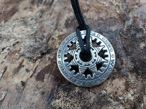 COMPASS of FORTUNE Talisman Necklace // Amulet // Witchcraft // Jewelry // Unisex // Pagan // Wicca