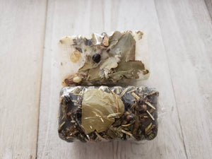 PURIFY and PROTECT SAMPLE Bar Soap Bundle Set // Rosemary Essential Oil // Palo Santo // Sage // Ritual Soap // Witchraft
