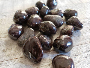 GARNET Tumbled  Stone // Root Chakra // Energy // Passion // Love // Metaphysical // Healing // Stone // Healing Crystal