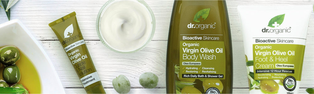 Virgin Olive Oil Skin Care