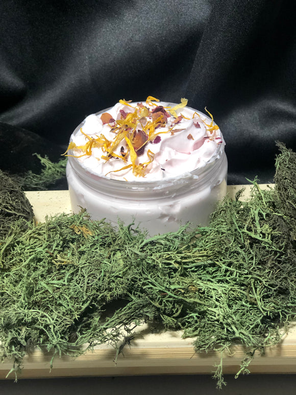 Basil, Lemon, Sweet Orange Body Butter 8oz