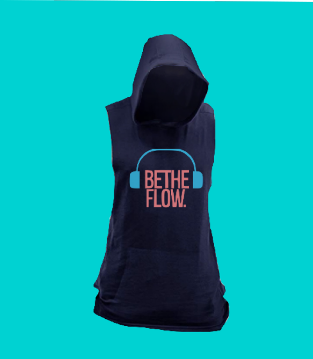 Sleeveless 🎧 BlockOut The Noise Hoodie