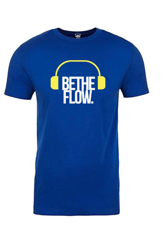 Blue/Maize 🎧 BlockOut The Noise Tee