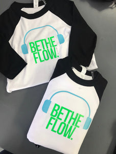 "BeTheFlow ""BlockOut The Noise"" Toddler Tee's"
