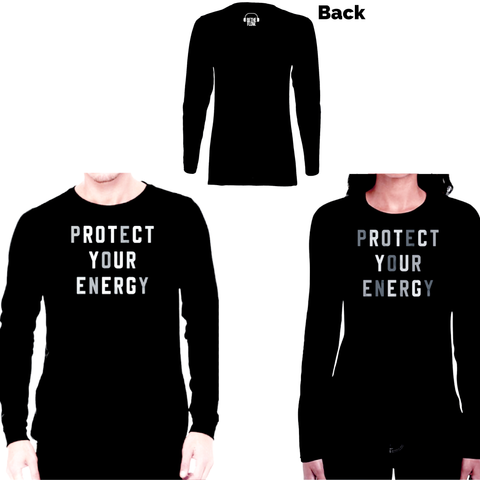 Protect Your Energy Long Sleeve Tee