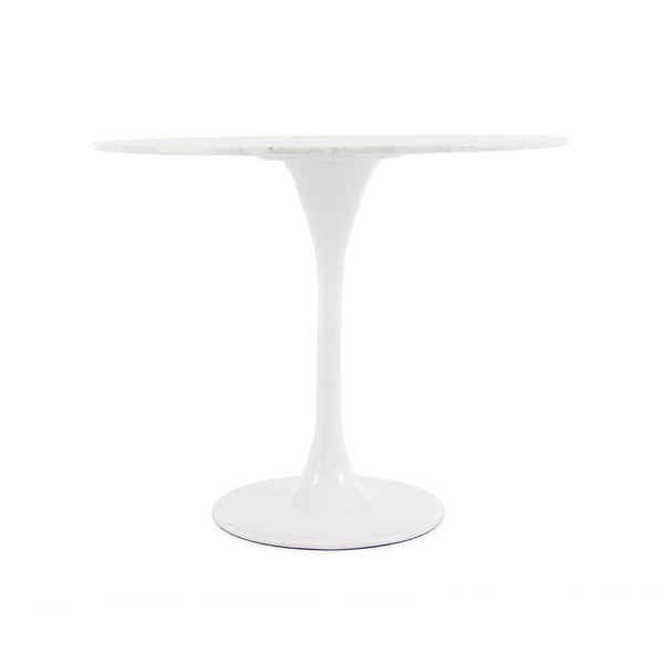 Saarinen Tulip Dining Table Replica Round - Italian Carrara Marble (2 Sizes)