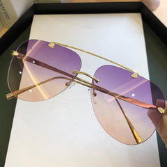 Rimless Sunglasses - Coopcentrics