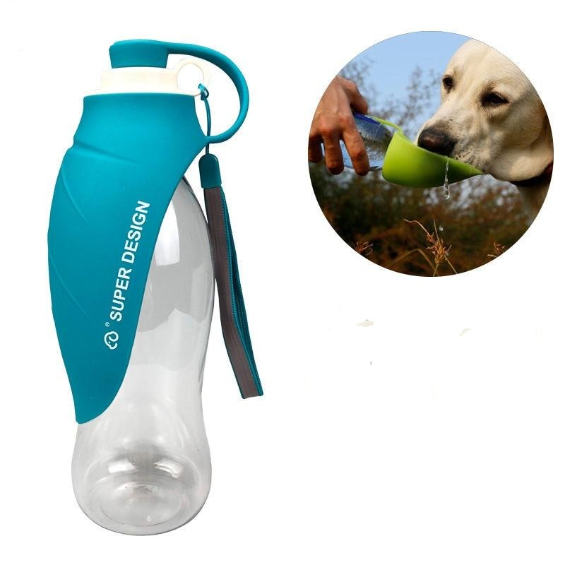 Portable Dog Water Bottle - Coopcentrics