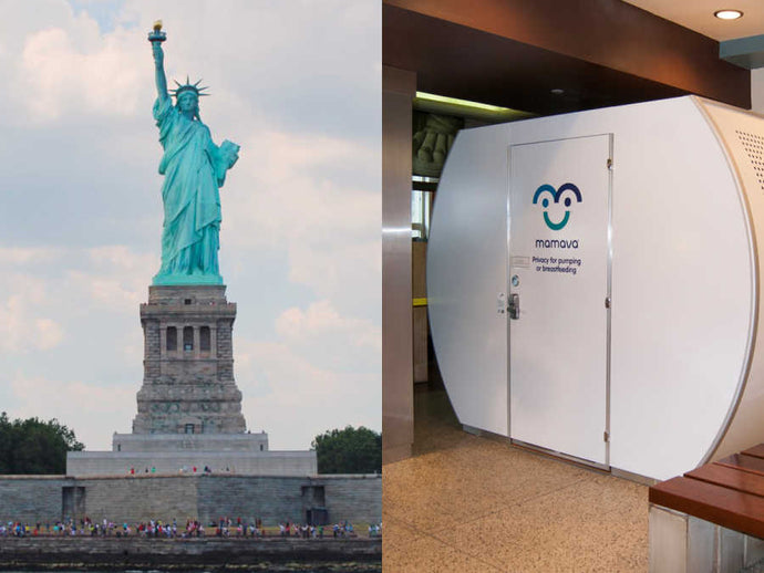 News For You -Breastfeeding Pods At The Statue Of Liberty
