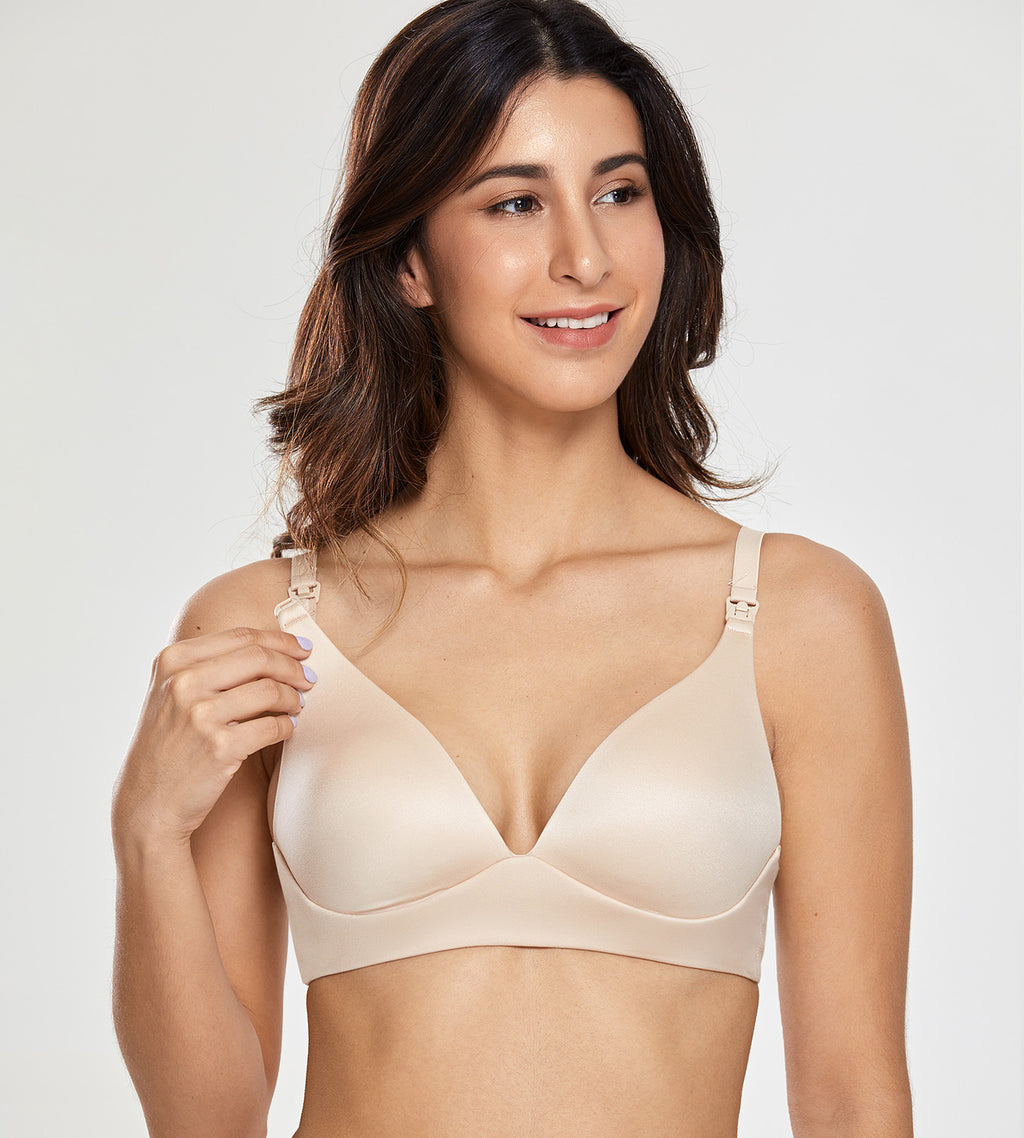 Soft Wire Free Nursing Bra