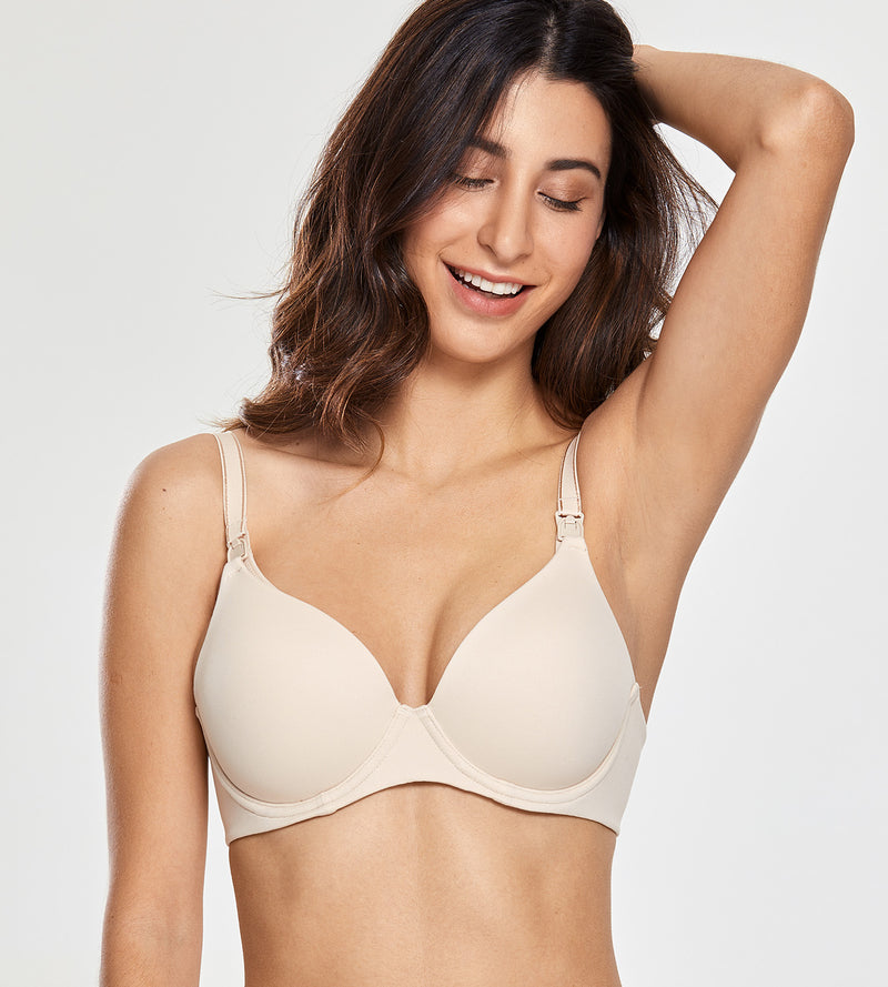 Full Coverage Lightly Padded Nursing Bra