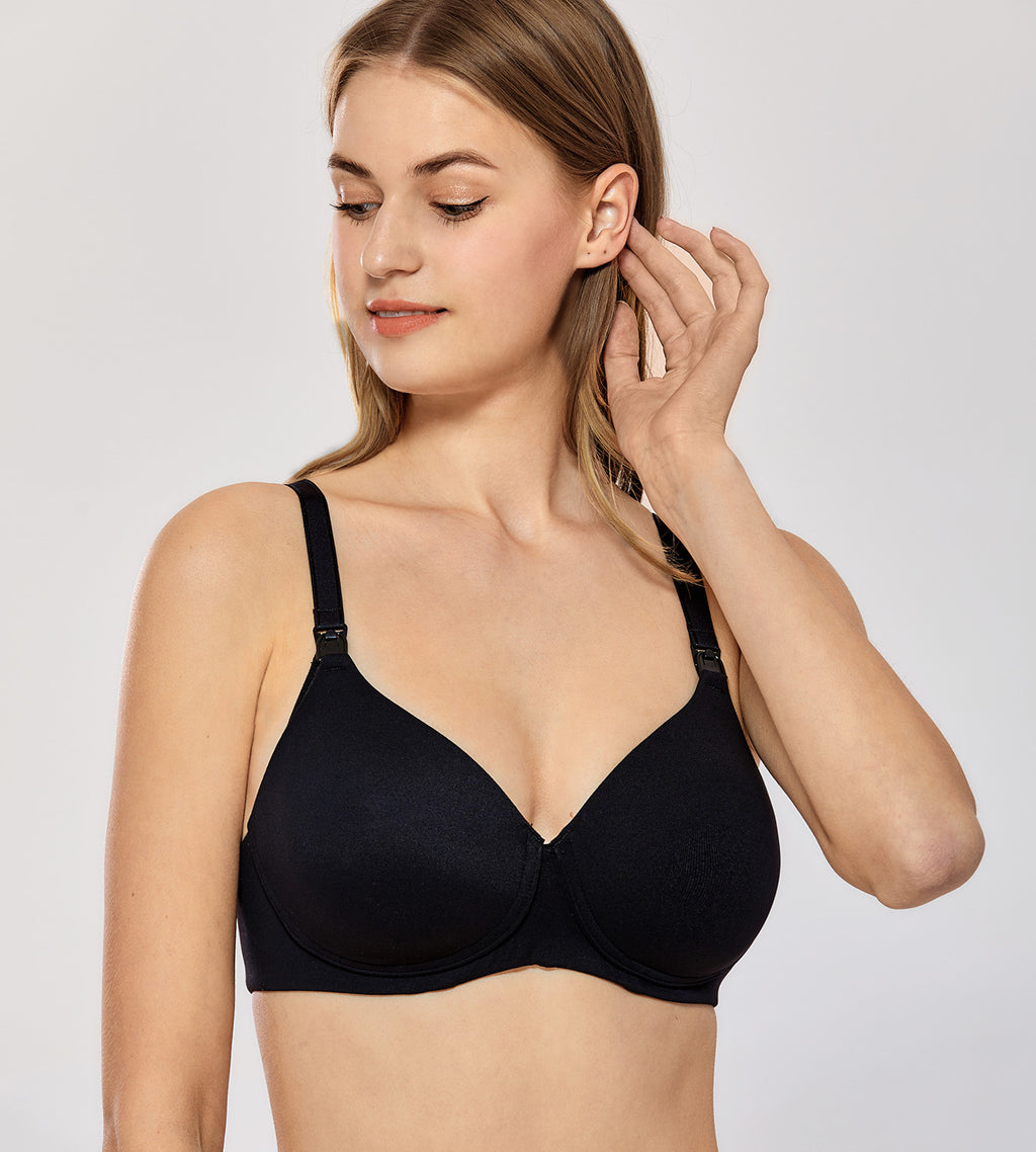 Lightly Padded Wirefree Nursing Bra