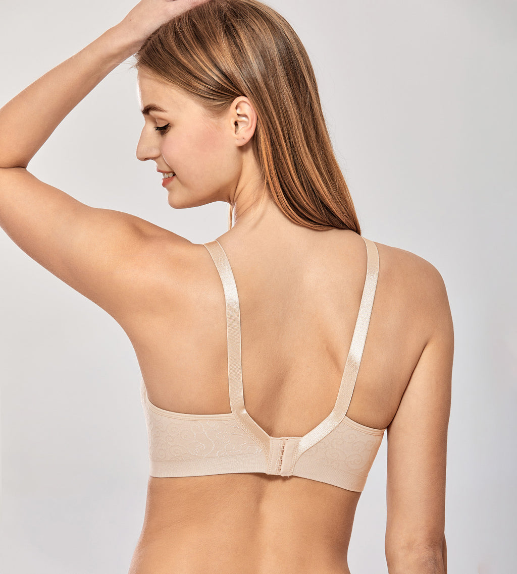 Jacquard Seamless Wireless Nursing Bra