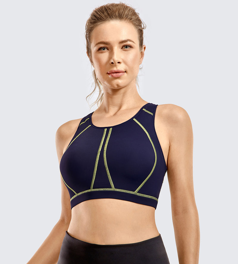 High Impact Padded Wirefree Sports Bra